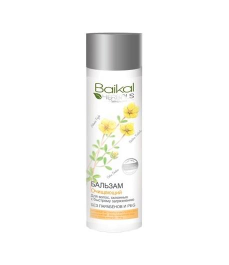 Balsam oczyszczający do włosów szybko przetłuszczających się - Baikal Herbals 280ml