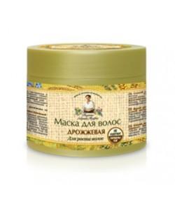 Maska do włosów drożdżowa - pobudzenie wzrostu - Receptury Babci Agafii 300ml