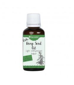 Zimnotłoczony Nierafinowany Olej z Nasion Konopi Indyjskiej - Nacomi 30 ml
