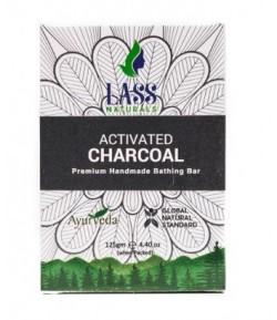 Mydełko z węglem aktywnym - Lass 125 g