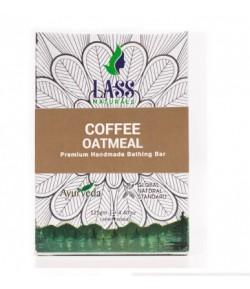 Mydełko Peelingujące z Kawą i Otrębami Owsianymi - 125 g Lass