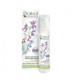 Krem Odżywczy do twarzy na noc - cera sucha i wrażliwa - Baikal Herbals 50 ml