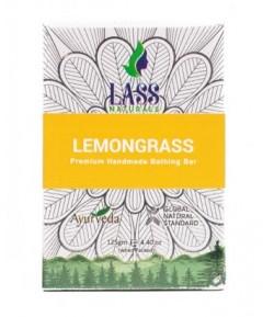Mydełko z trawą cytrynową - Lass 125 g