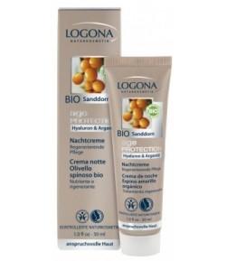 Age Protection - Krem Przeciwzmarszczkowy na noc - Logona 30 ml