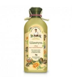 Szampon Regeneracja - dla osłabionych i zniszczonych włosów - Receptury Babci Agafii 350 ml