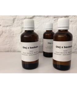 Olej z baobabu tłoczony na zimno (Adansonia Digitata Seed Oil) 50ml