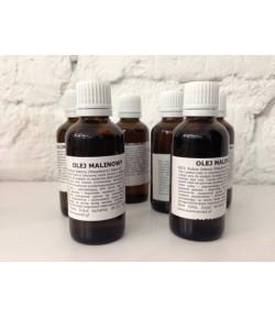 Olej z pestek Malin tłoczony na zimno - Sunniva Med 50 ml
