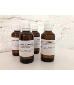 Olej Aloesowy (Aloe barbadensis) - Sunniva Med 50 ml