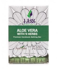 Mydełko z aloesem i 9 ziołami - Lass 125 g
