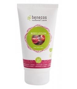 Ujędrniający balsam do ciała z granatem i różą - Benecos 150 ml