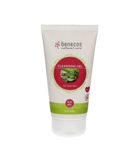 Nawilżający żel do mycia twarzy - Benecos 150 ml