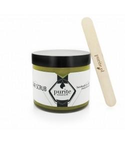 Peeling solny Limonka z Zieloną Glinką Francuską - Purite 250 ml