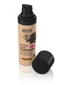 Podkład - Fluid do makijażu 04 - beżowy - Lavera 30 ml