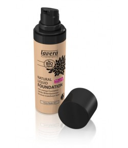 Podkład do makijażu - Ivory Nude 02 - Lavera 30 ml