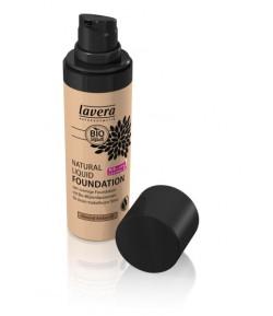 Podkład do makijażu - Almond Amber 05 - Lavera 30 ml
