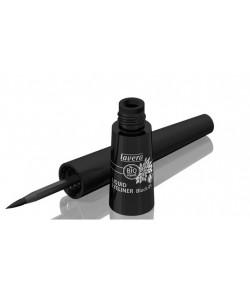 Płynny eyeliner - czarny 01 - Lavera 3,5 ml