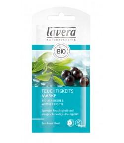 Maseczka nawilżająca z bio-acai i białą bio-herbatą - Lavera 8 ml