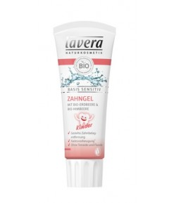 Pasta do zębów dla dzieci z wyciągiem z bio-truskawek i bio-malin - Lavera 75 ml
