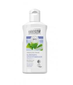 Tonik rozjaśniający do twarzy z wyciągiem z miłorzębu japońskiego i bio-winogron - Lavera 125 ml