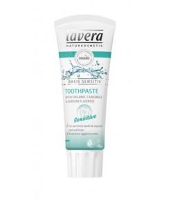 Pasta do zębów wrażliwych z bio-rumiankiem i fluorem - Lavera 75 ml