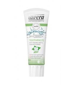 Pasta do zębów miętowa z bio-miętą i fluorem - Lavera 75 ml