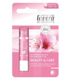 Balsam do ust beauty & care rose - Lavera 4,5 g