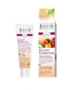 Krem CC - Nawilżający Make Up do cery dojrzałej z wyciągiem z bio-jagód camu camu i naturalnymi pigmentami LPF6 - Lavera 30 ml