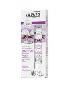 Ujędrniający krem pod oczy z bio-olejem karanja i bio-białą herbatą - Lavera 15 ml