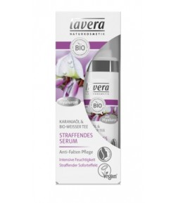 Ujędrniające serum z bio-białą herbatą i bio-olejem karanja - Lavera 30 ml