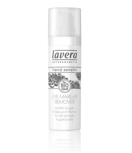 Delikatny preparat do demakijażu oczu - Lavera 30 ml