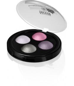 Błyszczące cienie do powiek - Quattro Lavender Couture 02 - Lavera 2 g