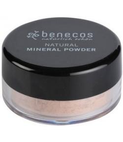 Naturalny sypki puder mineralny - Średni Beż - Benecos 10 g