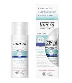 Fluid do twarzy z wyciągiem z bio-wiesiołka i bio-rokitnika - Lavera 30 ml