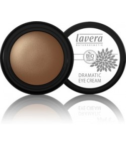 Cień do powiek w kremie - Dramatic Eye Cream - Gleaming Gold 01- Lavera 4 g