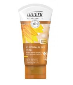 Samoopalacz do twarzy z bio-olejem makadamia i bio-olejem słonecznikowym - Lavera 50 ml