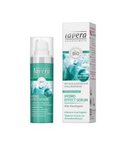 Serum intensywnie nawilżające z bio-algami i kwasem hialuronowym - Lavera 30 ml