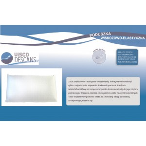 Poduszka wiskozowo-elastyczna - Visco Descans 70x35