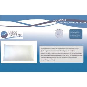 Poduszka wiskozowo-elastyczna - Visco Descans 60x40