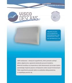 Poduszka wiskozowo-elastyczna profilowana - Visco Descans 70