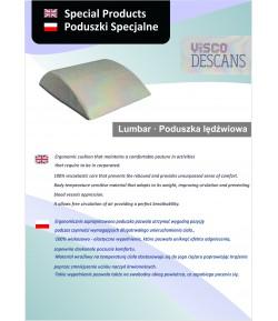 Poduszka lędźwiowa wiskozowo-elastyczna - Visco Descans