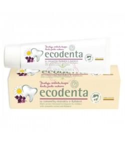 Pasta do zębów dla dzieci o smaku czarnej porzeczki z ekstraktem rumiankowym i bioaktywnym wapniem - Ecodenta 75 ml