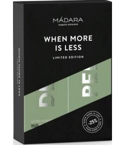 Zestaw Duo Ultra oczyszczająca maseczka DETOX + Aktywna rozjaśniająco peelingująca maseczka AHA - Madara 60 ml + 60 ml