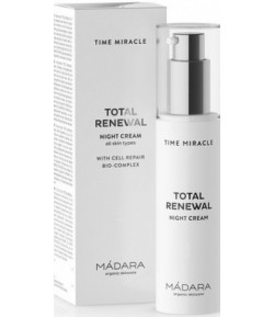 Time Miracle Total Renewal Krem na noc - Madara 50 ml