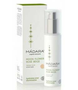 Fluid tonujący do twarzy Moon Flower - Madara 15 ml