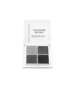 Naturalne poczwórne cienie do powiek - Smokey eyes - Benecos 4,8 g