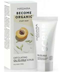 Złuszczający peeling oil-to-milk - Madara 12,5 ml