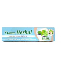 Pasta do zębów z Tulasi - Tulsi ( Bazylią) - Dabur 100 ml