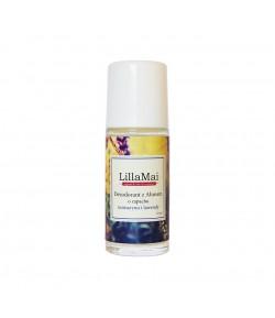 Naturalny dezodorant z ałunem o zapachu rozmarynu i lawendy - Lilla Mai 50 ml