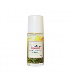 Naturalny dezodorant z ałunem o zapachu trawy cytrynowej - Lilla Mai 50 ml