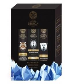 Super zestaw dla mężczyzn - Natura Siberica Men 2x250 ml i 1x50 ml